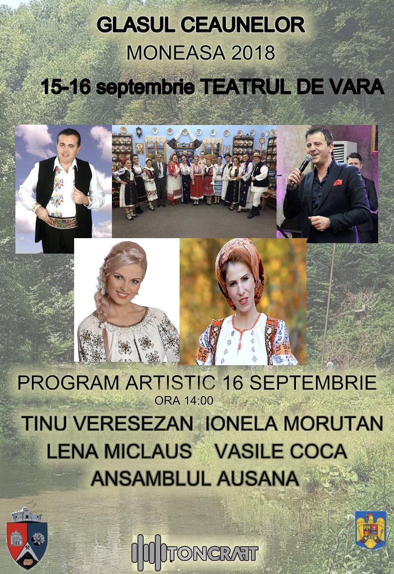 glasul ceaunelor - moneasa - 2018 - 15-16 septembrie la Teatrul de Vara